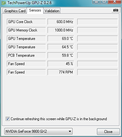 9800 GX2 only uses single core!, Only 11073 from 3DMark
