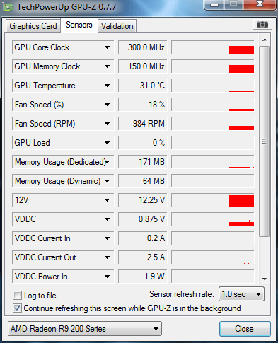 MSI R9 270x 2g gaming - artifacts in games