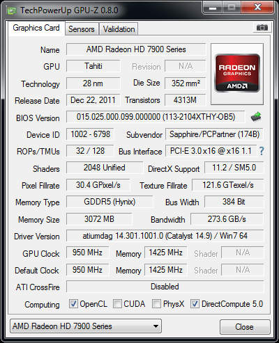 NOT SOLVED! I bought a 7970, Most programs say its a 280x