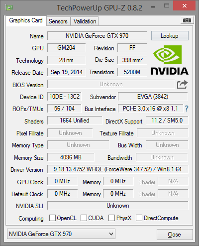issue with bricked evga 970? | AnandTech Forums: Technology