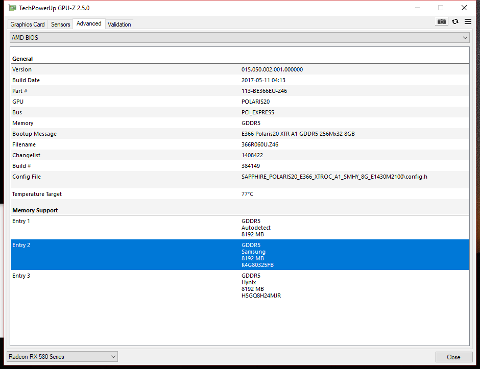 Any experience with this version of Sapphire NITRO+ RX 580 Special