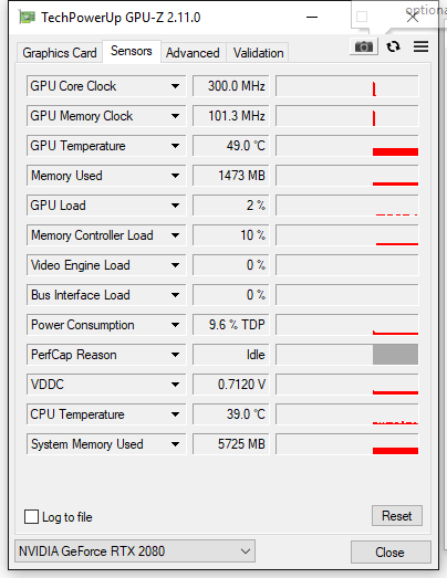 RTX 2080 XC, GPU FAN2 Speed is going crazy